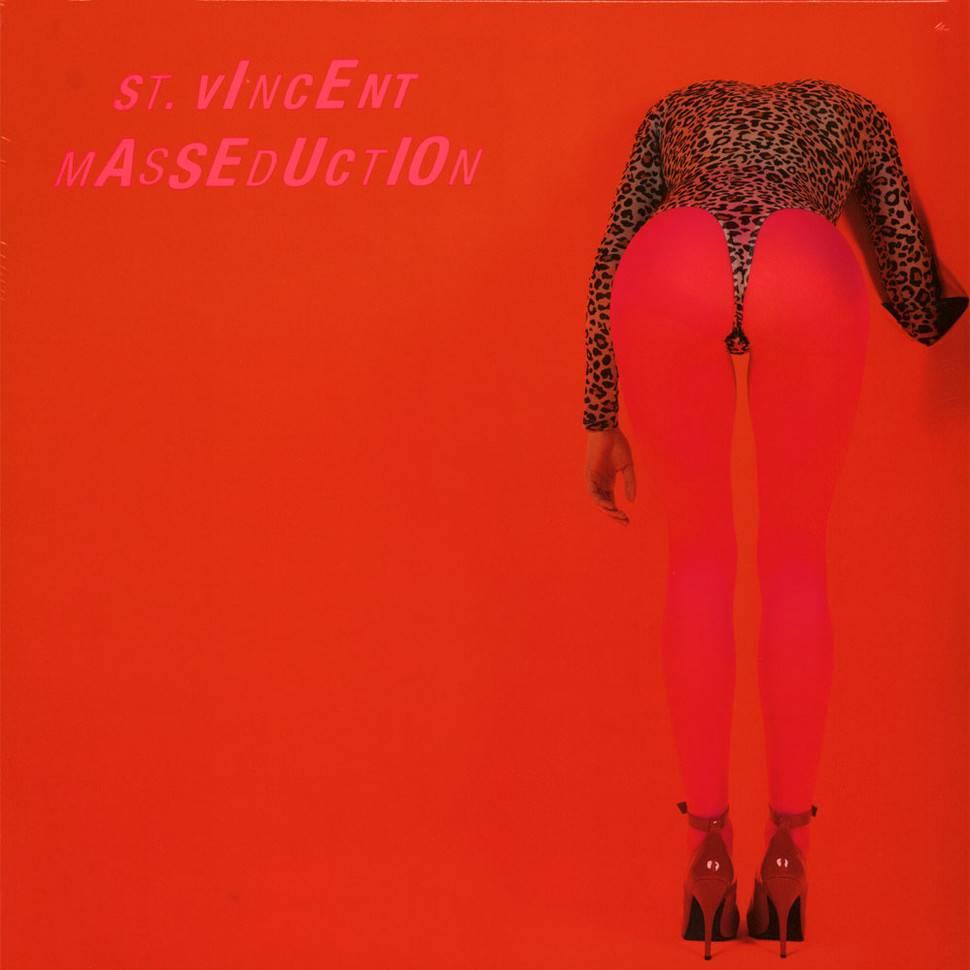 Masseduction St Vincent: ST VINCENT/MASSEDUCTION (COLORED VINYL LP) * * * • Satchmi